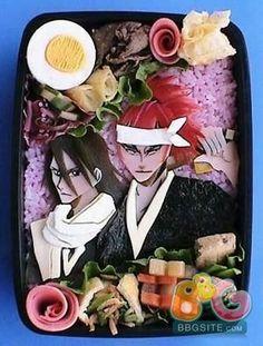 Bleach Byakuya and Rengi
