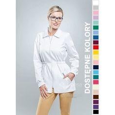 Odzież medyczna dla kobiet. | Bluza damska kolorowa 1507 - z pewnością będzie to strzał w 10-tkę dla pielęgniarek i lekarzy. | Sklep internetowy Dersa |