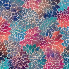 Floral Abstract 8 Art Print by klaraacel Cross Stitch Pillow, Blackwork, Tapestry, Graphic Design, Art Prints, Blanket, Pillows, Wood Burning, Painting Art