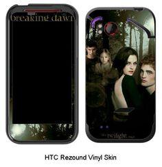 The Twilight Saga Breaking Dawn Bella Cullen HTC Rezound Vinyl Skin