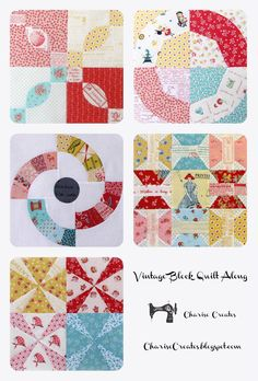 Charise Creates: Vintage Block Quilt Along - Light and Shadow - #5