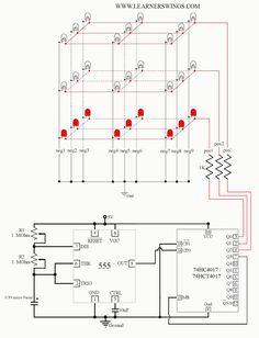 flashing blinking led circuit using transistors schematic arduino rh pinterest com