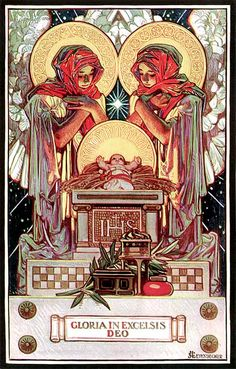 Leyendecker - This could go with Christmas stuff too.