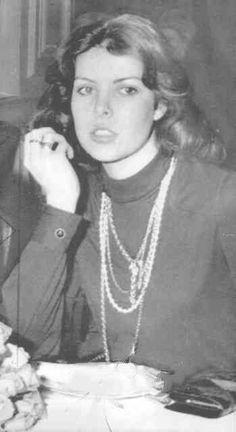 Special Transmission for Boston Sunday HeraldA 1973 photo of Princess Caroline of Monaco.