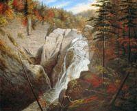 Krieghoff, Cornelius -  Les chutes Sainte-Anne - Musée  des beaux-arts du Canada, Ottawa