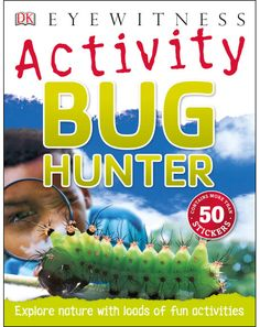 Explore the world of bugs and other creepy crawlies with more than 30 fun, hands-on activities Enter the kingdom of creepy crawlies, from beetles and Hands On Activities, Book Activities, World Watch, Reading At Home, Nonfiction Books, Book Worms, Have Fun, Around The Worlds, Explore