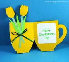 Homemade Gifts Ideas for Grandparents and Handmade Grandparents Day Cards