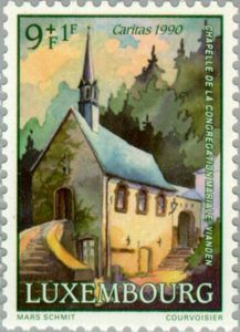 Sello: Chapels (Luxemburgo) (Chapels) Mi:LU 1259,Sn:LU B375,Yt:LU 1209