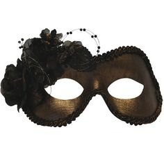 Jeweltone Bronze Masquerade Mask for Women A-2687BR ($22) ❤ liked on Polyvore featuring jewelry, bronze jewelry and masquerade jewelry