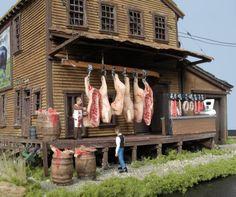 Meat Market ~ HO Scale