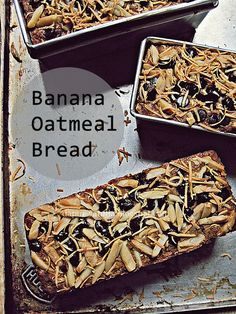 Dapur Vanilla: Banana Oatmeal Bread