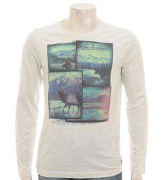 PME Legend Pall Mall T-shirt met fotoprint - NummerZestien.eu
