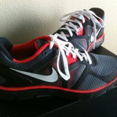 My new Nike LunarGlide 3+. Can't wait to go running!