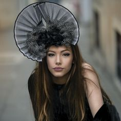 6baf8884 Check out Carrie Jenkinson Millinery's New Fascinator Collection available  Now!! #fascinator #hats