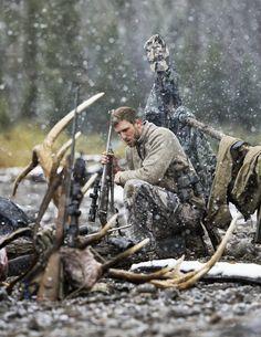 Hunting – Elk Hunt – Hunter At Campfire.jpg (3280×4244)