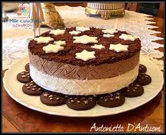 Ideas For Cheese Cake Ricetta Pan Di Stelle Cheese Cake Filling, Cake Filling Recipes, Easy Cake Recipes, Dessert Recipes, Chocolate Cheesecake Recipes, Easy Cheesecake Recipes, Cheesecake Cake, Biscotti Cheesecake, Mini Desserts