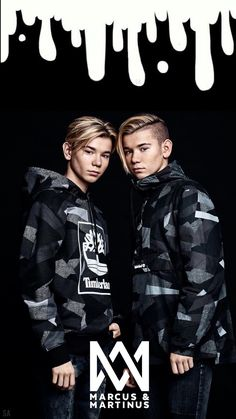 Marcus and Martinus wallpaper 🖤💫 Marcus Y Martinus, Mike Singer, Lyric Drawings, Famous Twins, Bars And Melody, Dream Boyfriend, Cute Twins, Gym Workout For Beginners, Boy Celebrities