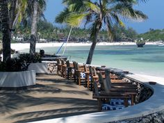 Hemingways Resort on the Turtle Bay beach at Watamu in Kenya