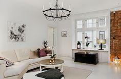 Interiorismo clasico en un espacio nordico. Viviendo la elegancia