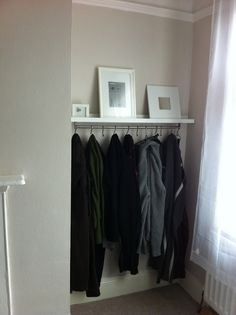 for the clothes not dirty enough for the hamper, not clean enough to go back into the closet.  or just not worth folding