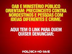 RN POLITICA EM DIA: PRECONCEITO É CRIME.