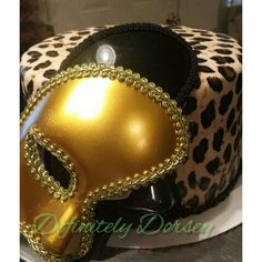 Leopard Masquerade cake Sonya Dorsey