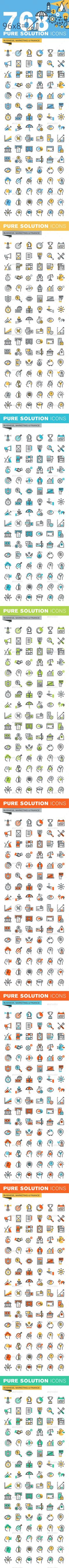 Wireless icon line iconset iconsmind - Set Of Thin Line Flat Design Icons Of Business And Finance