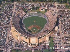 Baltimore's Memorial Stadium on 33rd Street was home to Colts and Orioles magic.  It was replaced in the 90s by a housing development and a YMCA.