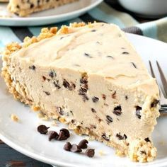 Pies + Tarts - A Family Feast®--Chocolate Chip Peanut Butter Pie Chocolate Pudding Shots, Chocolate Chip Pie, Chocolate Peanuts, Chocolate Peanut Butter, Irish Chocolate, Peanut Butter Filling, Peanut Butter Desserts, Butter Pie, Delicious Chocolate