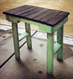 12 DIY Pallet Side Tables / End Tables | 101 Pallets
