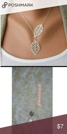 Coachella neckalce Leaf design necklace  Brand new  So cute  Has adjustable clasp  Long necklace Jewelry Necklaces