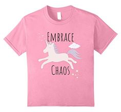 Embrace The Chaos Tee. Pony Unicorn Servant of Doom Funny T-Shirt. Sweet Evil Shirt. Sacrifice Body and Soul With This Cute Cartoon Minion of Destruction. Great TShirt for Family and Friends. Maleficent Fantasy Horse from Mythology.