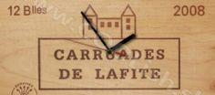 Darček Nástenné hodiny Wood Vintage Lafite