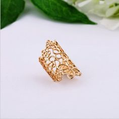 PR-0205 Occident Fashion Jewelry For Women 2013 New Lace Hollow Flower Ring