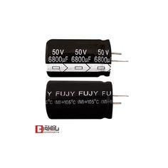 خازن الکترولیتی 6800 میکروفاراد 50 ولت FUJY
