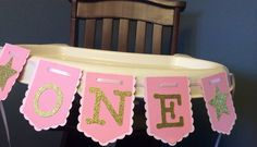 Twinkle Twinkle Little Star High chair banner by ChevysShop, $13.00
