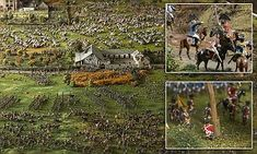 Green Jackets Museum model shows the full extent of the Battle of Waterloo Waterloo Film, Battle Of Waterloo, London Tourist Guide, Scum Of The Earth, Model Show, Military Diorama, Napoleonic Wars, Winchester, Troops