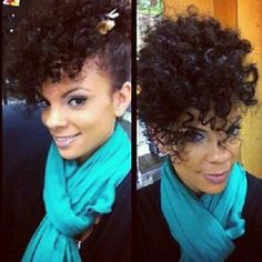Pretty Updo...should try with my curls!