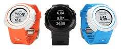 It's the first smart watch designed for running with a ruggedised design and water-resistance that can withstand adverse conditions