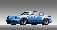 IROC Porsche, Carrerra RSR, 1974.COURTESY OF THE WILLIAM E. (CHIP) CONNOR COLLECTION, PHOTOGRAPH ©2013 MICHAEL FURMAN.