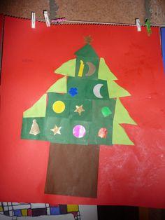 Map juf Ineke: kerstboom samenstellen en versieren