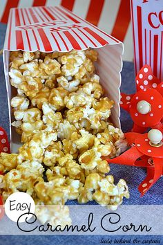 Easy Caramel Corn - Lady Behind the Curtain    Sounds like the recipe Margie R. used at Children's World in the 70's.  Best ever!
