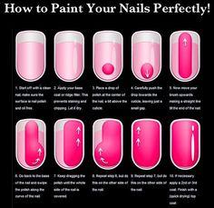 perfecte nagels lakken