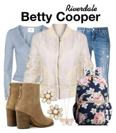 Designer Clothes, Shoes & Bags for Women Teen Girl Outfits, Girly Outfits, Fall Outfits, Cute Outfits, Fashion Outfits, Betty Cooper Outfits, Riverdale Fashion, Preppy Casual, Fandom Outfits