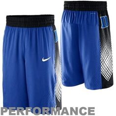 ashleykirbyyy's save of Nike Duke Blue Devils Hyper Elite Road Warrior Performance Basketball Shorts - Duke Blue on Wanelo