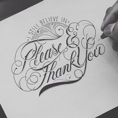 Hand Type by Raul Alejandro I like the top flourish and lettering