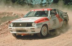 Mitsubishi Starion turbo, Rally 100 Pistes, 1985