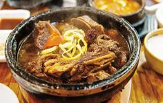 """""""I would say definitely order some soups and stews,"""" says Matt Rodbard, co-author of Koreatown with Deuki Hong. """"It is essential to understanding Korean food."""""""