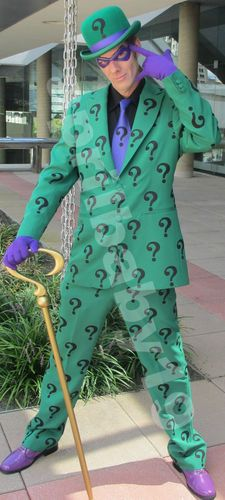 Riddler Question Mark Symbol Patches Patch Iron Ons Purple Green Black | eBay