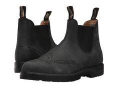 Blundstone BL1472 Boots Rustic Black Brogue